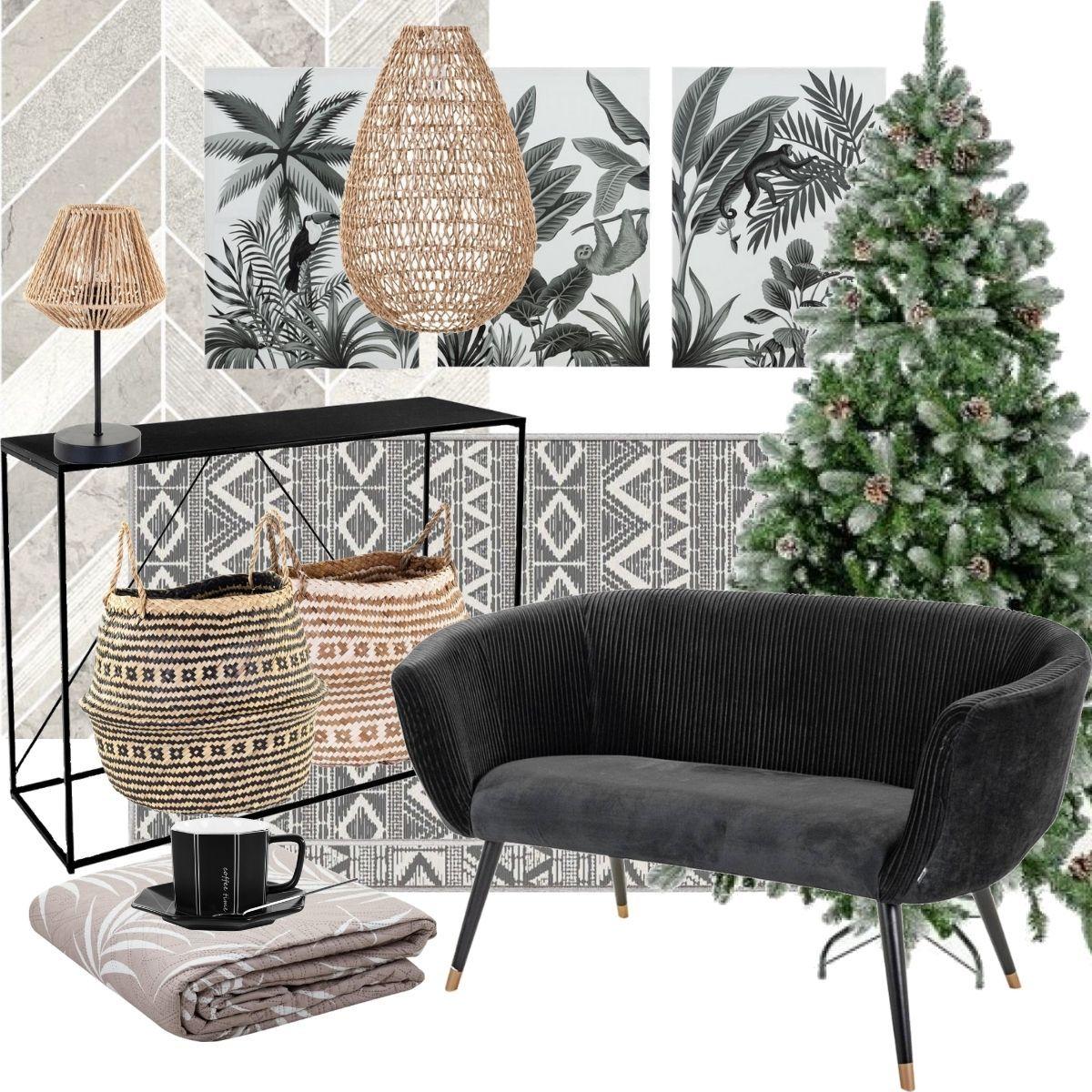 organikus karácsonyi dekor