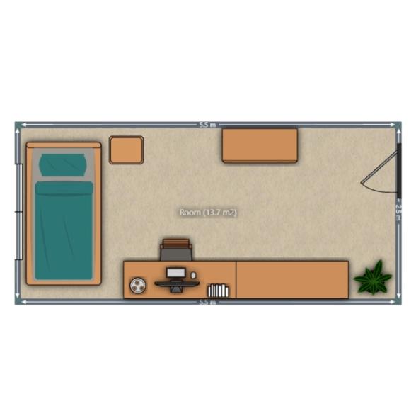 panel hálószoba ötletek